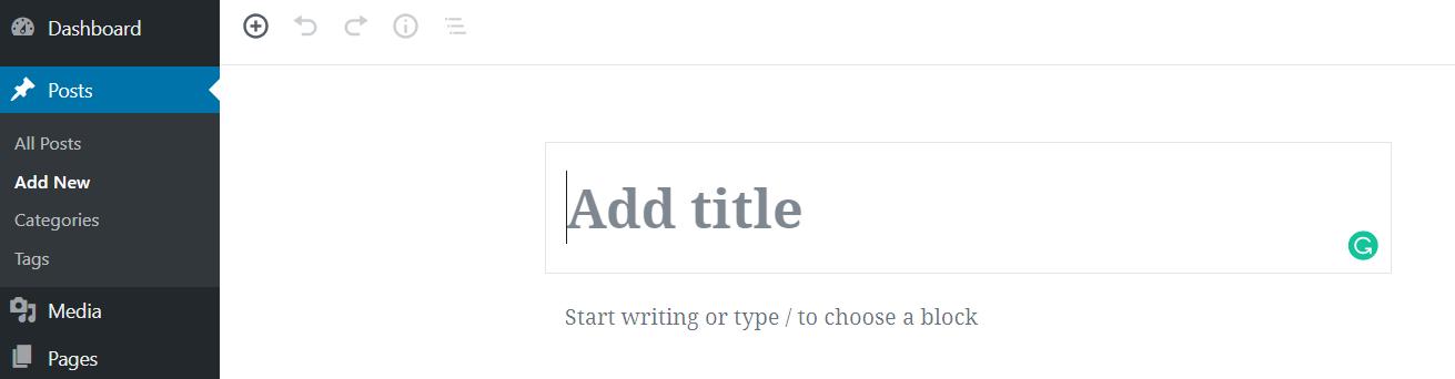 Add a New Post in WordPress