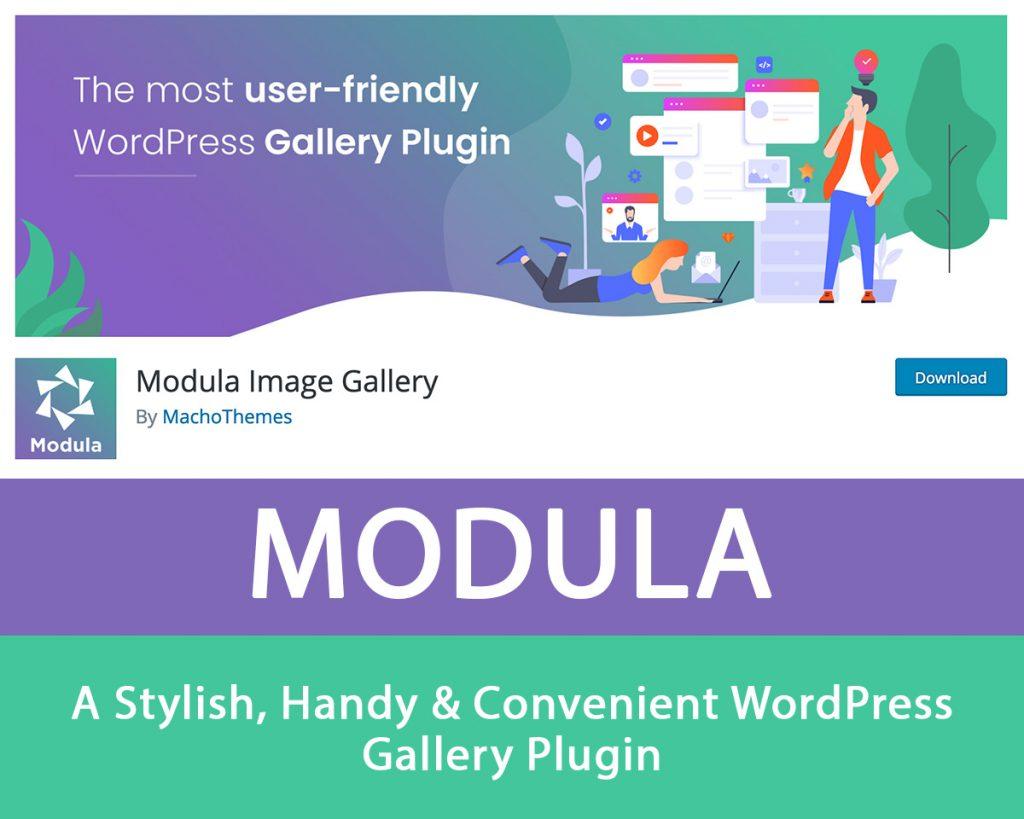 WordPress Gallery Plugin Modula