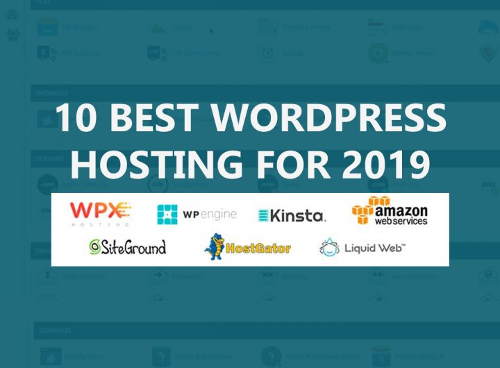 10 Best WordPress Hosting for 2019