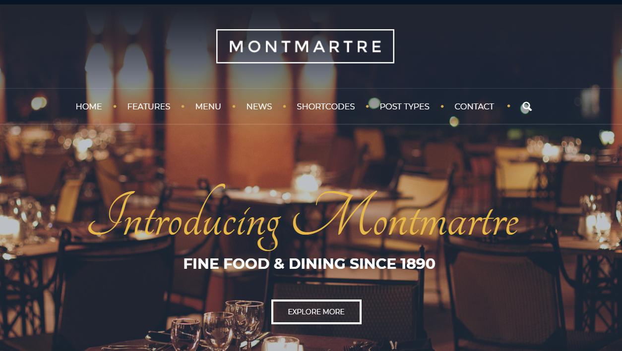 Restaurant WordPress Themes