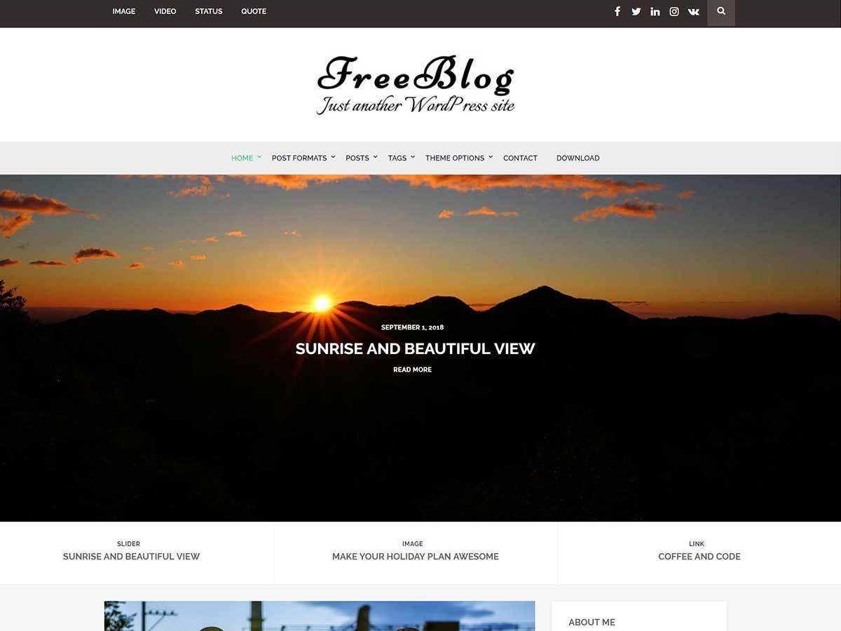 Blog WordPress Themes
