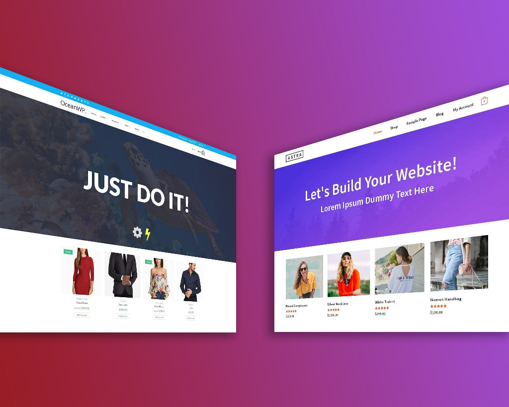 Astra Vs OceanWP   Which is the best Theme for your site