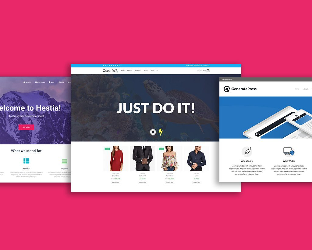 Collection of Fastest and Responsive Elementor WordPress Themes and Templates