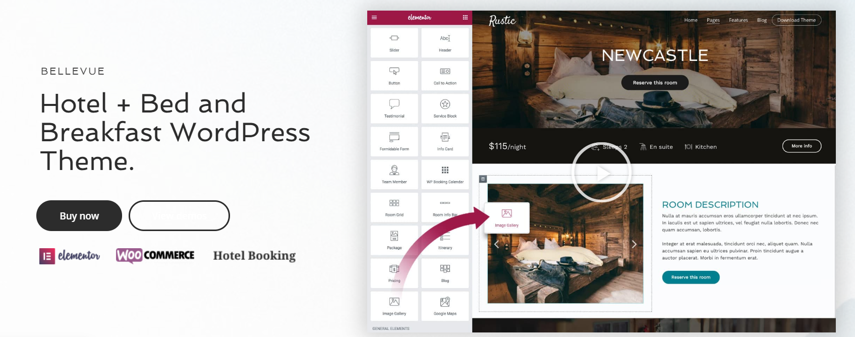 Best hotel WordPress Themes