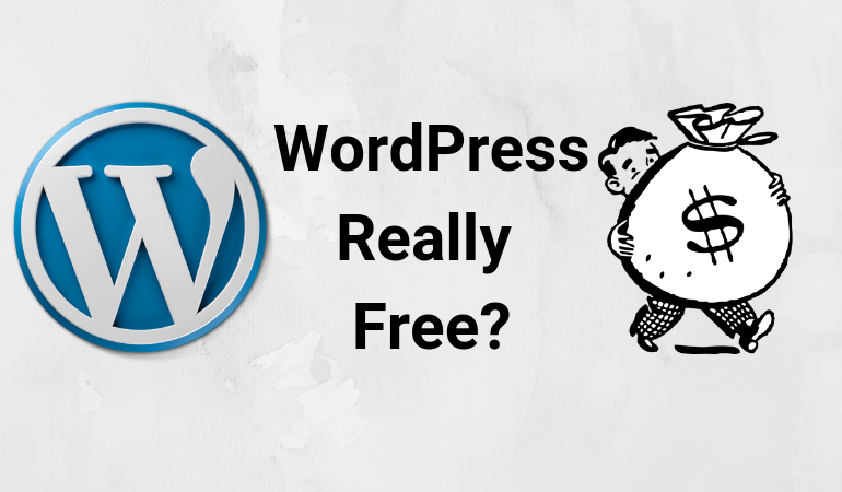 why wordpress is free