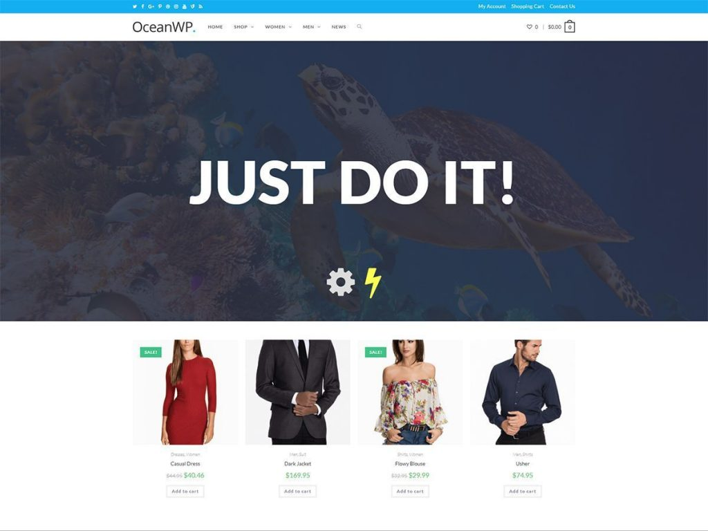 Congratulations OceanWP Free Multipurpose WordPress Theme for 500K+ Active Installations