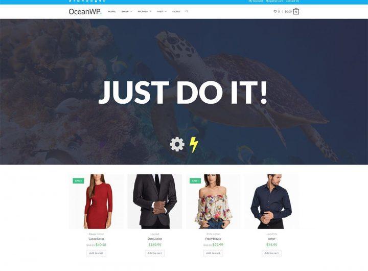 Congratulations OceanWP Free Multipurpose WordPress Theme for 500K+ Active Installations