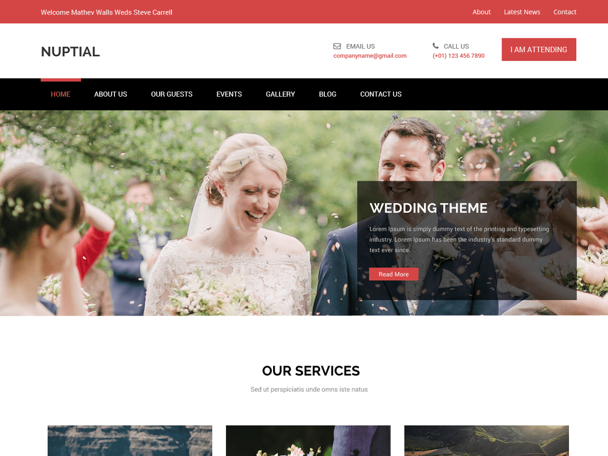 Wedding WordPress Themes