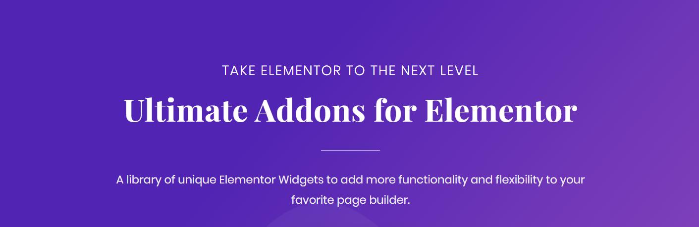 Best Premium Elementor Addons Ultimate Addons