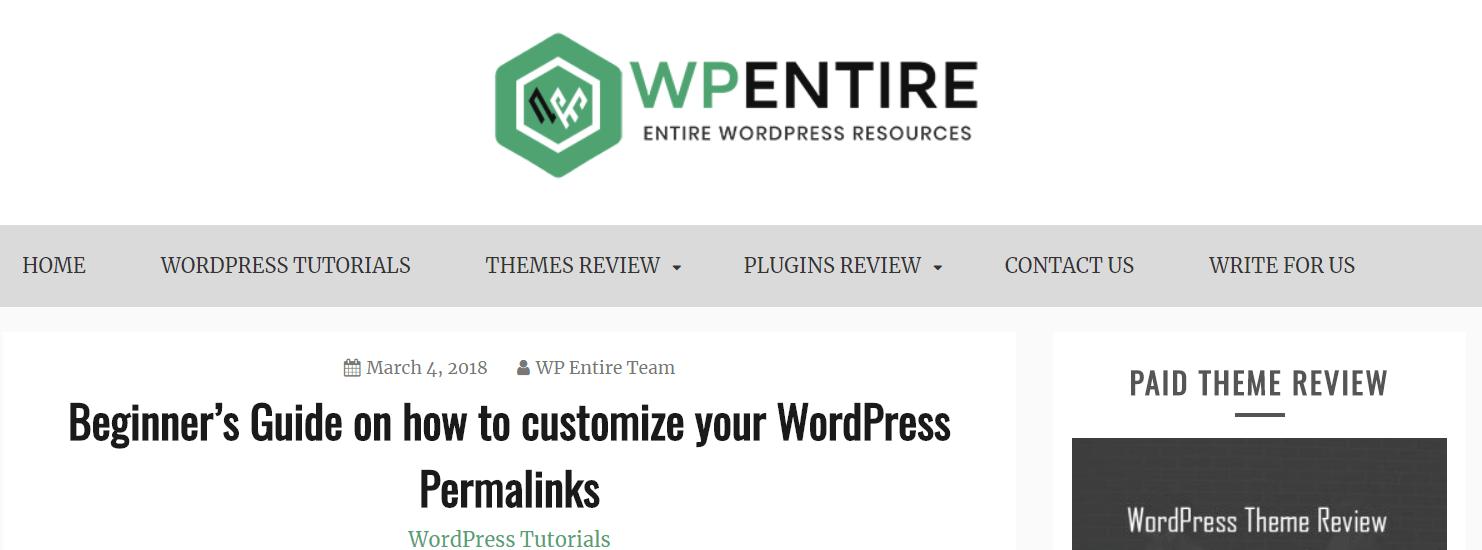 popular wordpress blog to follow