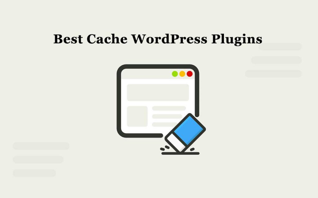 best cache wordpress plugins