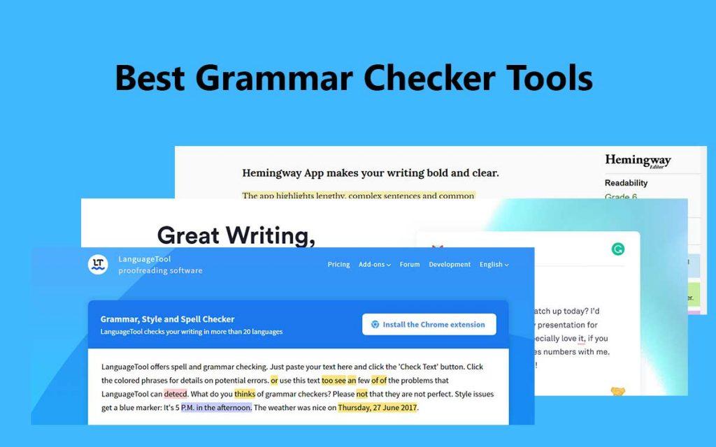 best-grammar-checker-tools
