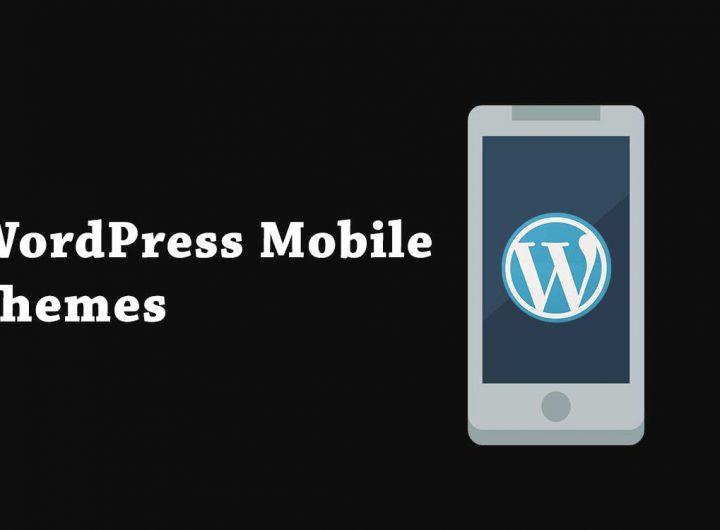 wordpress mobile themes