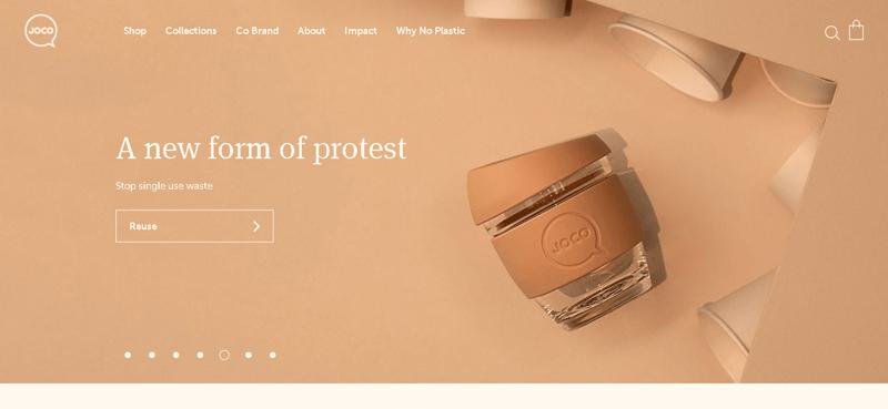 Joco Cups Online Shop Using WooCommerce
