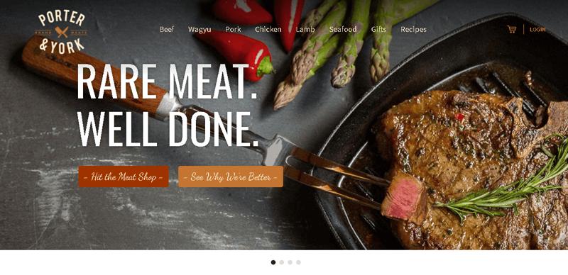 Porter & York eCommerce Site