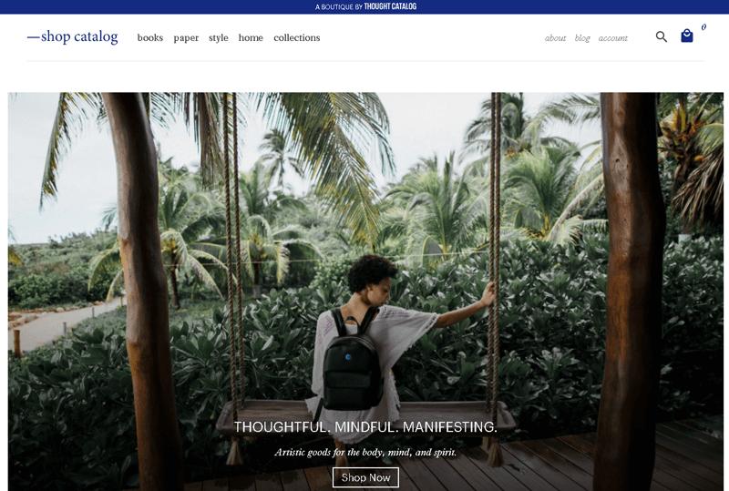 Shop Catalog best ecommerce websites using WordPress
