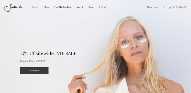 Sodashi Online Shop