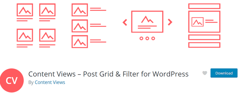 Content View Post Grid Plugin