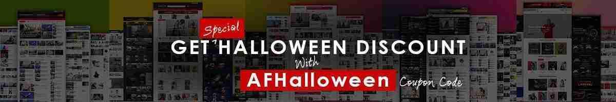 AF themes Halloween Offer