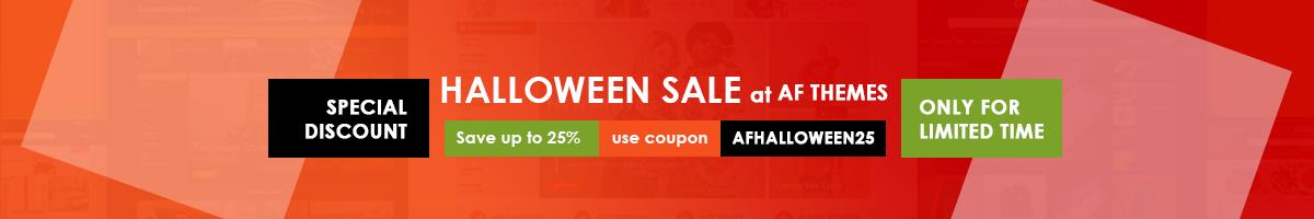 AF Halloween Sale!